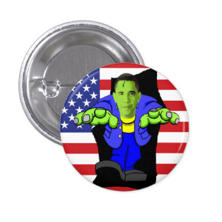 Obama vs America! Buttons
