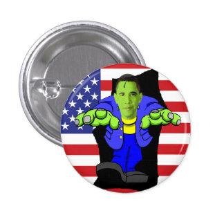 Obama vs America! Pinback Button