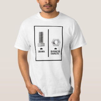 Obama vs Business Owners Tee Shirt