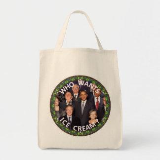 Obama Wants Ice Cream Tote Bag