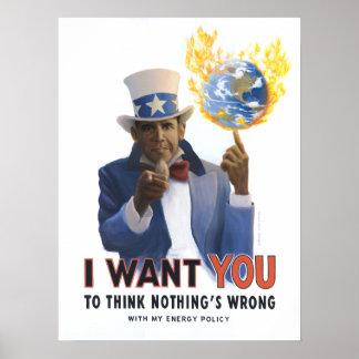 Obama Wants You! Print