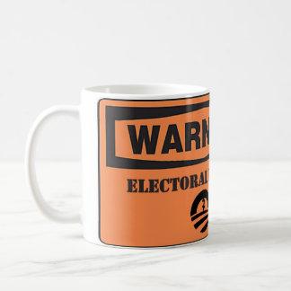 Obama - Warning Electoral Hazard Classic White Coffee Mug