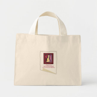 Obama 'We are the Ones' Quote- pregnant Mini Tote Bag