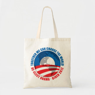 Obama: We Can Change The World Tote Bag