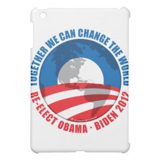 Obama: We Can Change The World Cover For The iPad Mini