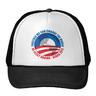 Obama: We Can Change The World Trucker Hat