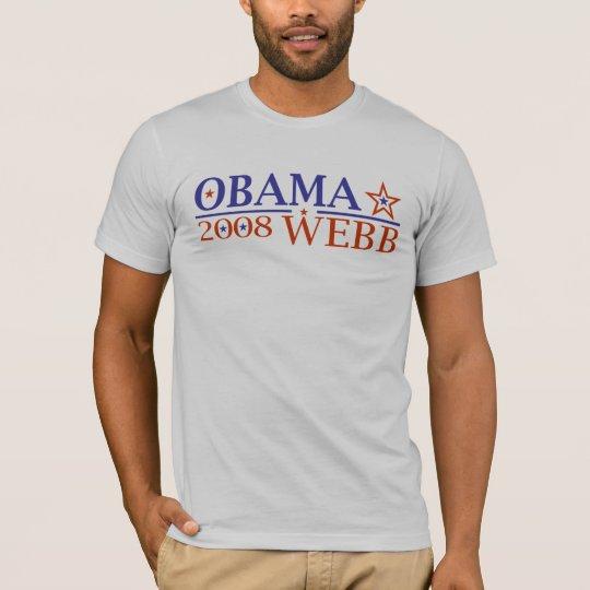 Obama Webb 08 T-Shirt