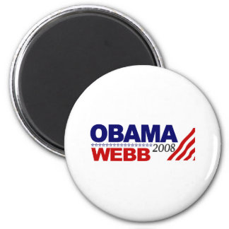 Obama Webb 2008 Magnet