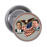 Obama/Webb Eagle Flag Button