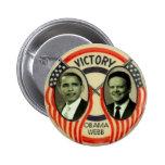 Obama & Webb Pins