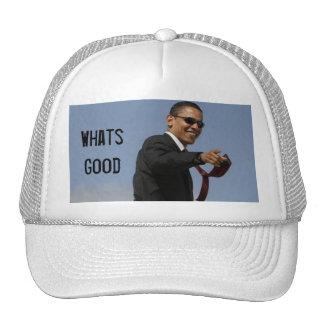 Obama, Whats Good Trucker Hat