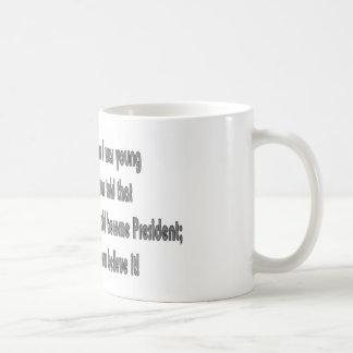 Obama - When I was young Coffee Mug