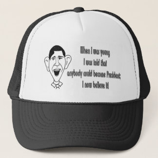 Obama - When I was young Trucker Hat