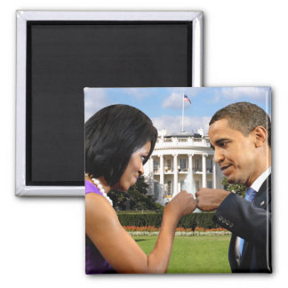 Obama White House Fist Bump Magnet