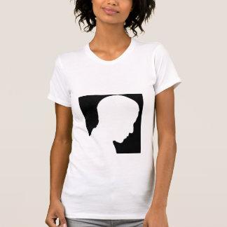 Obama White Silhouette T Shirt