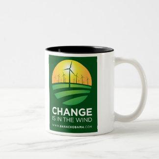 Obama Winds of Change 11oz. Mug