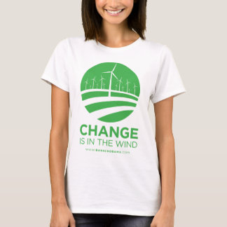 Obama Winds of Change Baby Doll T-Shirt