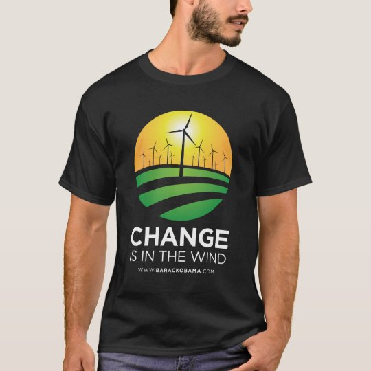 Obama Winds of Change Mens T-Shirt