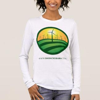 Obama Winds of Change Women's Long... - Customized Long Sleeve T-Shirt