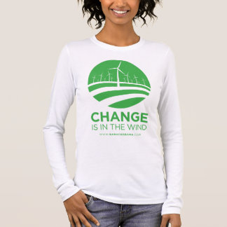 Obama Winds of Change Women's Long Sleeve T-Shirt