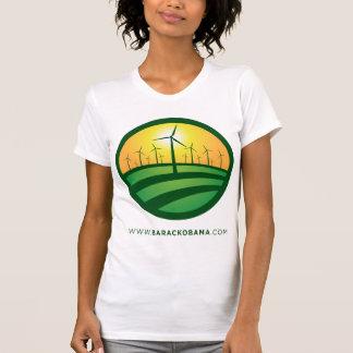Obama Winds of Change Women's T-Shirt - Customized
