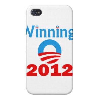 Obama Winning 2012 iPhone 4 Cover
