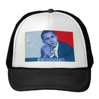 Obama #winning hats