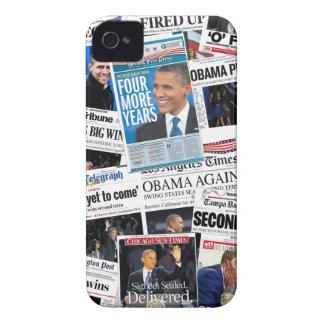 Obama Wins 2012 iPhone 4 Case