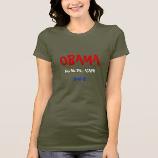 Obama Wins 2012 Yes We Did Again T-Shirt