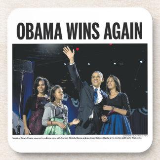 Obama Wins Again: Obama 2012 Coaster