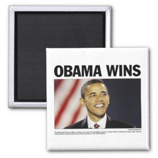 Obama Wins Magnet