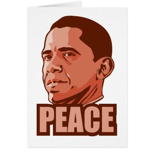 Obama Wins Peace Prize Cards