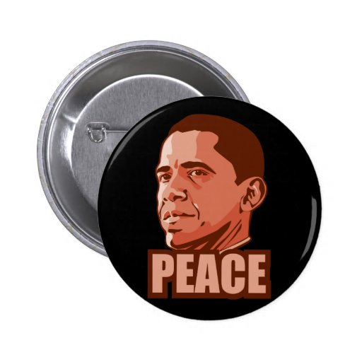 Obama Wins Peace Prize Pins