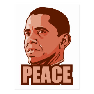 Obama Wins Peace Prize Post Cards
