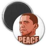 Obama Wins Peace Prize Refrigerator Magnet