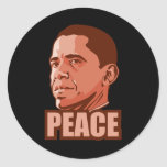Obama Wins Peace Prize Sticker