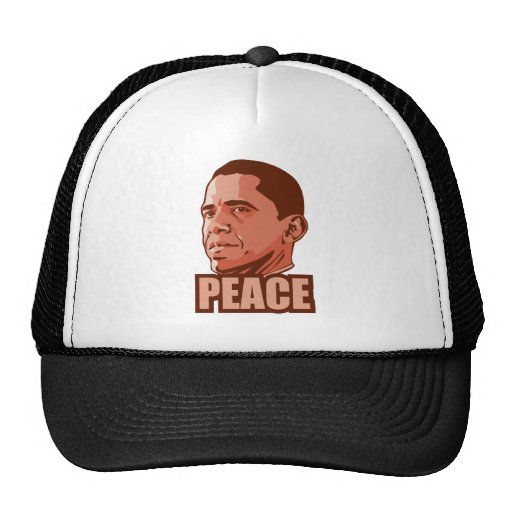 Obama Wins Peace Prize Trucker Hat