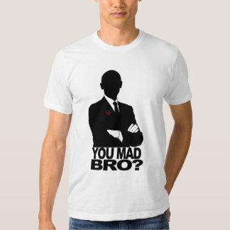 Obama Wins!  You mad bro? T-shirts