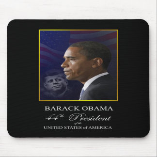 Obama with Kennedy Collector's Edition Mousepad