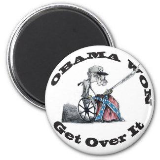 Obama Won 2 Inch Round Magnet