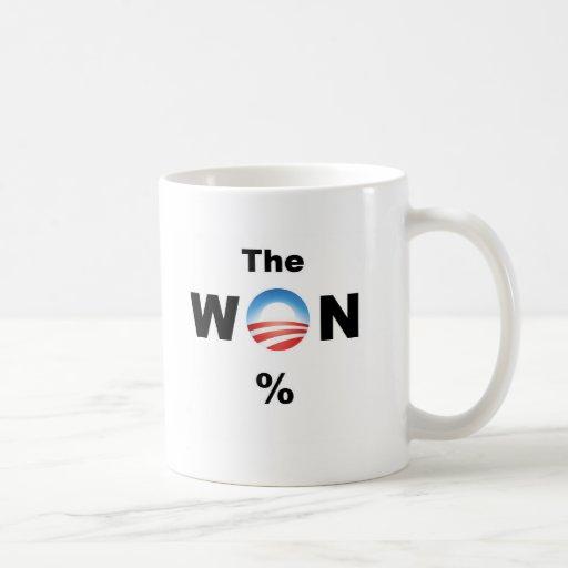 Obama WON! Coffee Mug