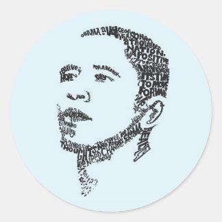 Obama: Words of Hope Sticker