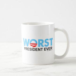 Obama WorstEver Classic White Coffee Mug