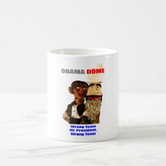 Obama - Wrong Team! Coffee Mug