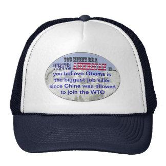 obama wto trucker hat