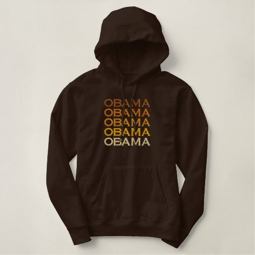 Obama x5 embroidered hoodie