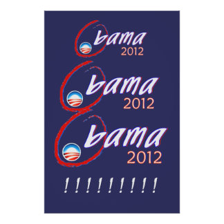 Obama x 3 posters
