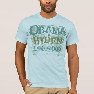 Obama y camiseta de la inauguración de Biden