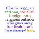 Obama y Jesús Postal
