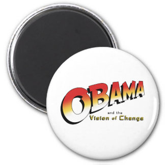 Obama y la cruzada pasada en 2012 imán redondo 5 cm